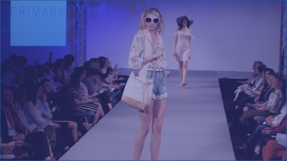 fashion catwalk for primark